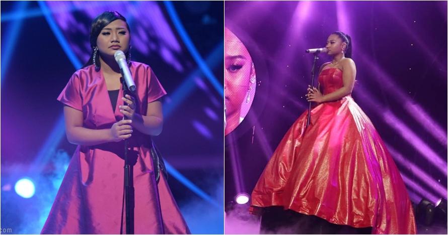 12 Transformasi penampilan Maria di panggung Idol, selalu memesona