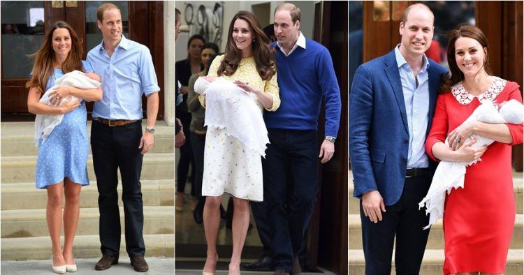 10 Beda penampilan Kate Middleton usai melahirkan ini bikin takjub
