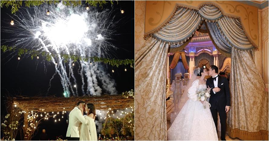 Momen wedding kiss 8 pasangan seleb ini romantisnya bikin baper