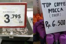 10 Label absurd produk yang dijual di supermarket, bikin tepuk jidat