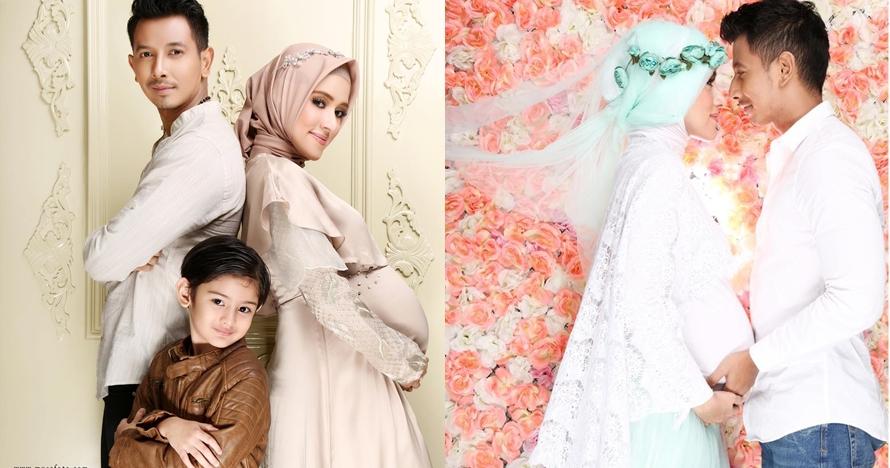 7 Potret maternity Fairuz A Rafiq & Sonny Septian, penuh warna warni