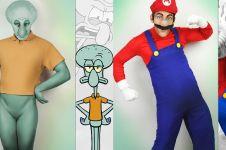 Pria ini cosplay 10 karakter kartun yang tak biasa, hasilnya wow abis!