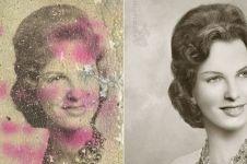 Diedit lagi, 12 foto rusak potret wanita zaman dulu ini bikin takjub