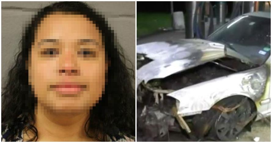 Alasan ibu kurung tiga putrinya dalam mobil terbakar ini bikin syok