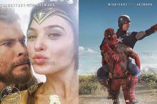 10 Foto editan kocaknya jika superhero Marvel-DC bercanda, ngakak deh