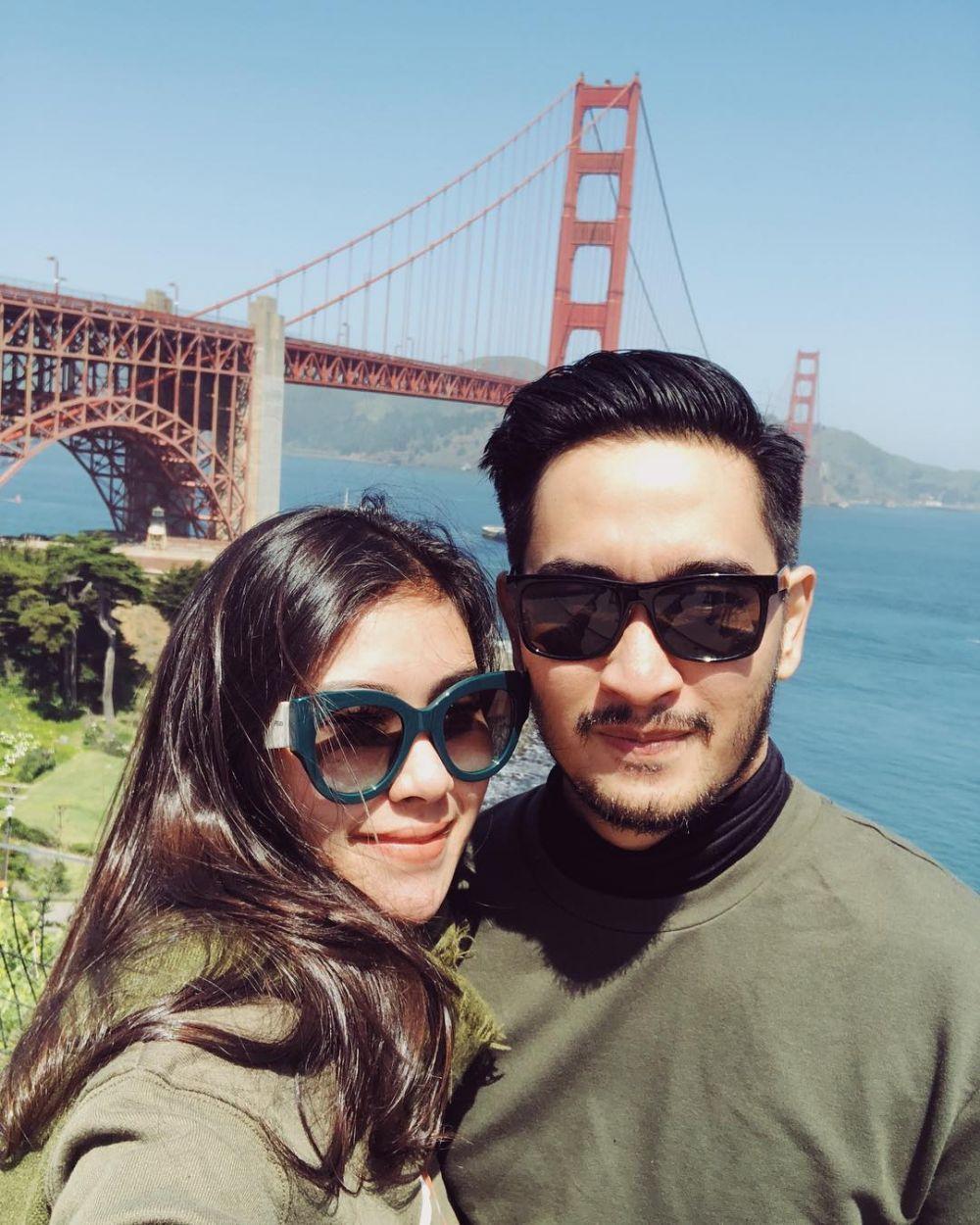 honeymoon Syahnaz © 2018 brilio.net