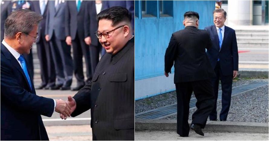10 Momen bersejarah Korsel & Korut, Kim Jong Un bertemu Mon Jae-in