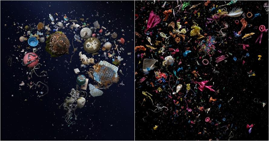 Kumpulkan sampah dari pantai, hasil karya seni pria ini bikin takjub
