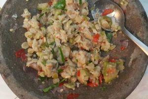 Resep mudah bikin sambal 'ganja', sambal khas Aceh yang pedasnya nagih