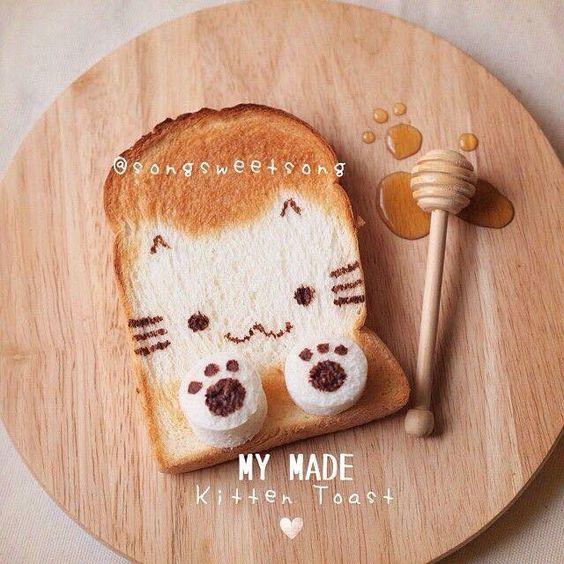 roti panggang kekinian © 2018 Pinterest