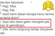 10 Cuitan 'interview karyawan' ala netizen ini bikin ngakak setuju