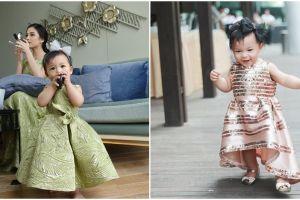 10 Potret cantik si kecil Nastusha saat pakai gaun, imut dan memesona