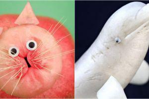 8 Bentuk bahan makanan mirip hewan ini lucu deh, nggak tega dimasak