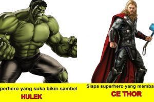9 Tebak-tebakan ngawur seputar superhero ini bikin ngakak
