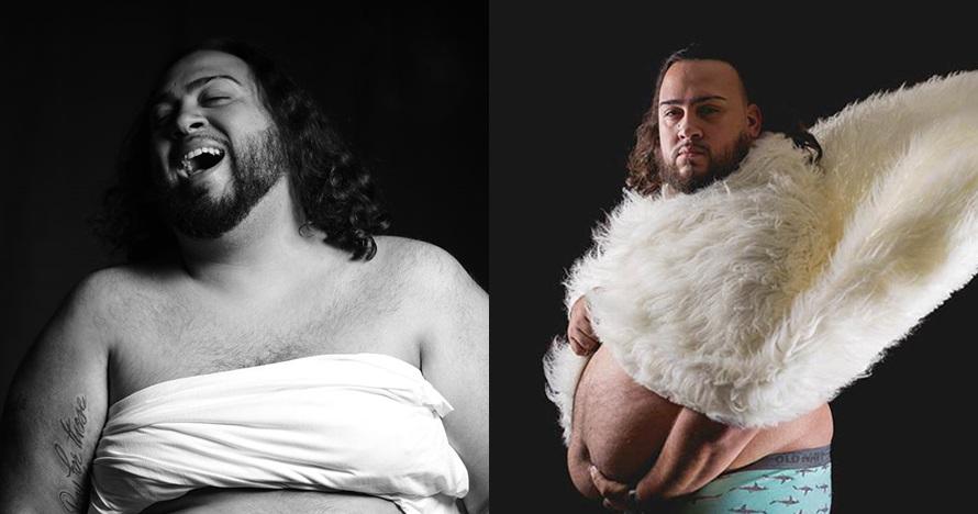 Istri tolak foto maternity, pria ini pilih pemotretan seorang diri