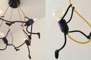 Kreatif dan unik, 8 desain lampu berbentuk stickman ini hasilnya keren