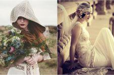 10 Transformasi gaya gaun pernikahan dari era ke era, suka yang mana?
