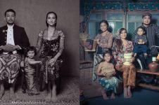5 Inspirasi pemotretan keluarga seleb bertema adat Jawa, kental budaya