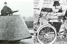 Bentuk aneh 11 kendaraan militer Perang Dunia I, ada yang mirip becak