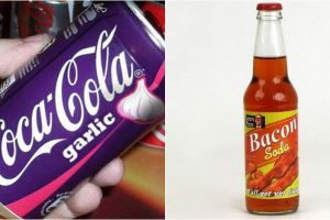 10 Soda ini punya rasa nggak biasa, ada yang seperti bawang