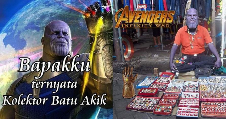 8 Meme 'Thanos dengan kearifan lokal' ini bikin yang galau jadi ceria
