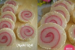 Resep mudah bikin mochi roll, variasi roll cake yang kenyal nan legit