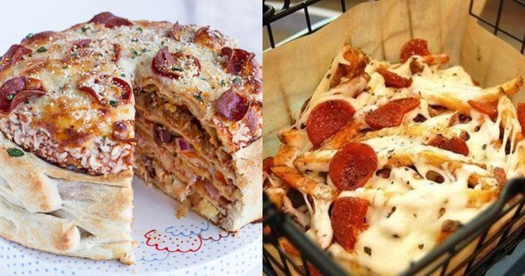 Beda dari biasanya, ini 5 kreasi makanan yang terinspirasi dari pizza