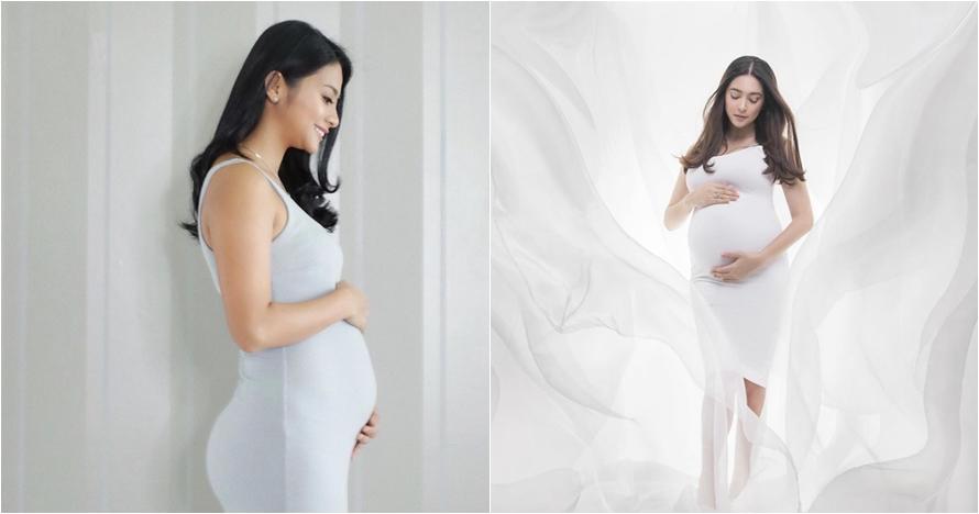 Pesona 8 seleb pakai baju ketat saat hamil, layak disebut bumil seksi