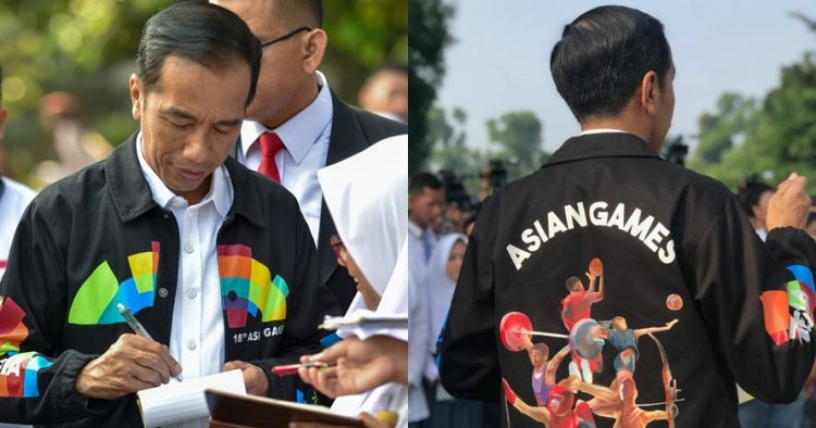 750xauto viral jaket asian games presiden jokowi begini penampakan detailnya 180503j - Asian Games Jaket