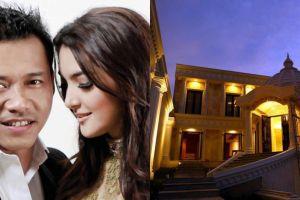 12 Penampakan rumah Anang Hermansyah yang megah bak istana