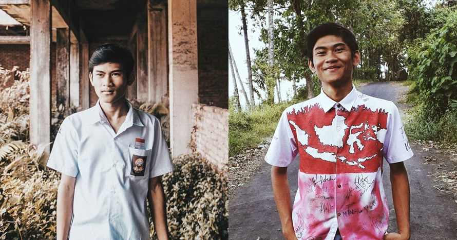 Ini pengakuan Epen, pelajar yang cat seragam SMA ala jaket Jokowi