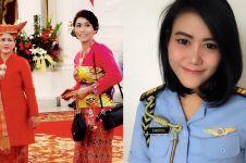 10 Pesona Kapten Adm Sandhyca, tentara cantik ajudan Ibu Negara Iriana