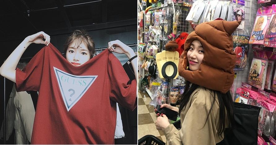 10 Potret ini bukti Bae Suzy tetap cantik memesona dalam pose konyol
