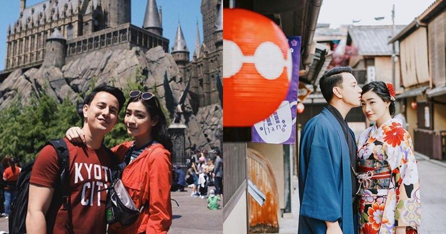 9 Momen Billy Davidson dan pacar saat traveling ke Jepang, so sweet
