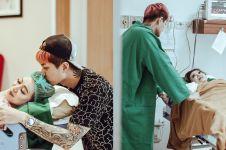 Penuh kebahagiaan, ini 10 momen kelahiran anak pertama Lee Jeong Hoon