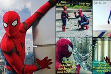 4 Komik strip absurd rumah tangga Spiderman ini bikin tepuk jidat