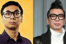 4 Foto buktikan Raditya Dika & Kim Jung-nam 'Turbo' bak saudara kembar