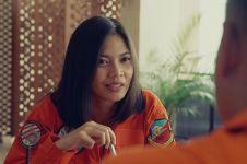 Antimainstream, pilot TNI AU ini dapat kejutan sertijab film pendek