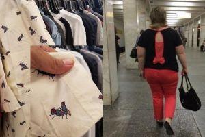 10 Desain baju fail ini bikin kamu mikir ke mana-mana