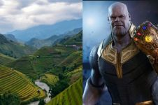 Terungkap, ini sawah indah lokasi syutingnya Avengers: Infinity War