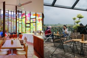 8 Tempat makan artistik di Bandung buat kamu si pecinta seni