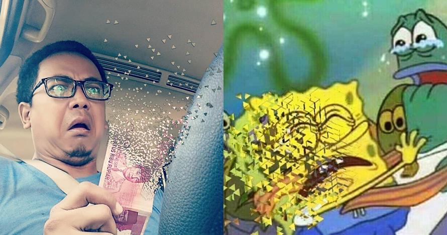 10 Gambar dan foto lucu gara-gara Thanos ini bikin geli-geli jengkel