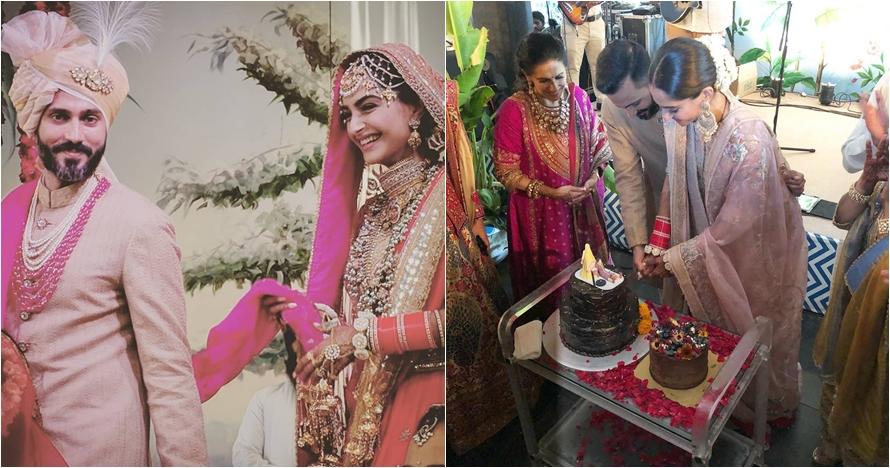 10 Foto pernikahan Sonam Kapoor dan Anand Ahuja, romantis abis