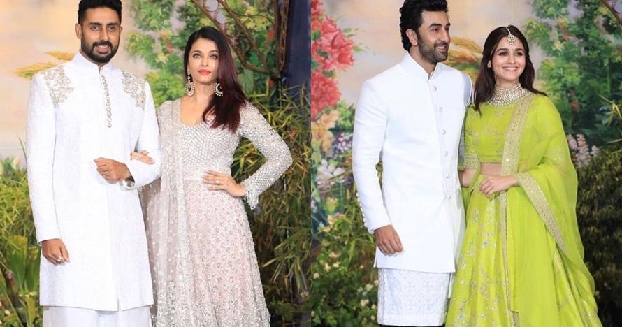 Gaya 12 seleb Bollywood menghadiri pernikahan Sonam Kapoor