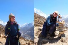10 Gaya Patricia Ranieta host Jejak Petualang saat taklukkan Everest