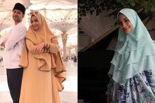 8 Pesona Nagita Slavina dengan balutan hijab, cantiknya meneduhkan