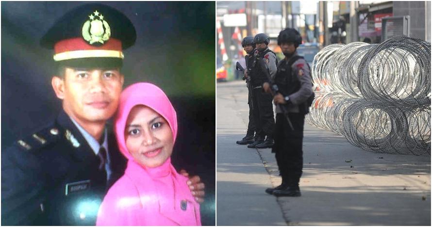 Kisah haru polisi di Mako Brimob, anak lahir usai ayahnya dimakamkan