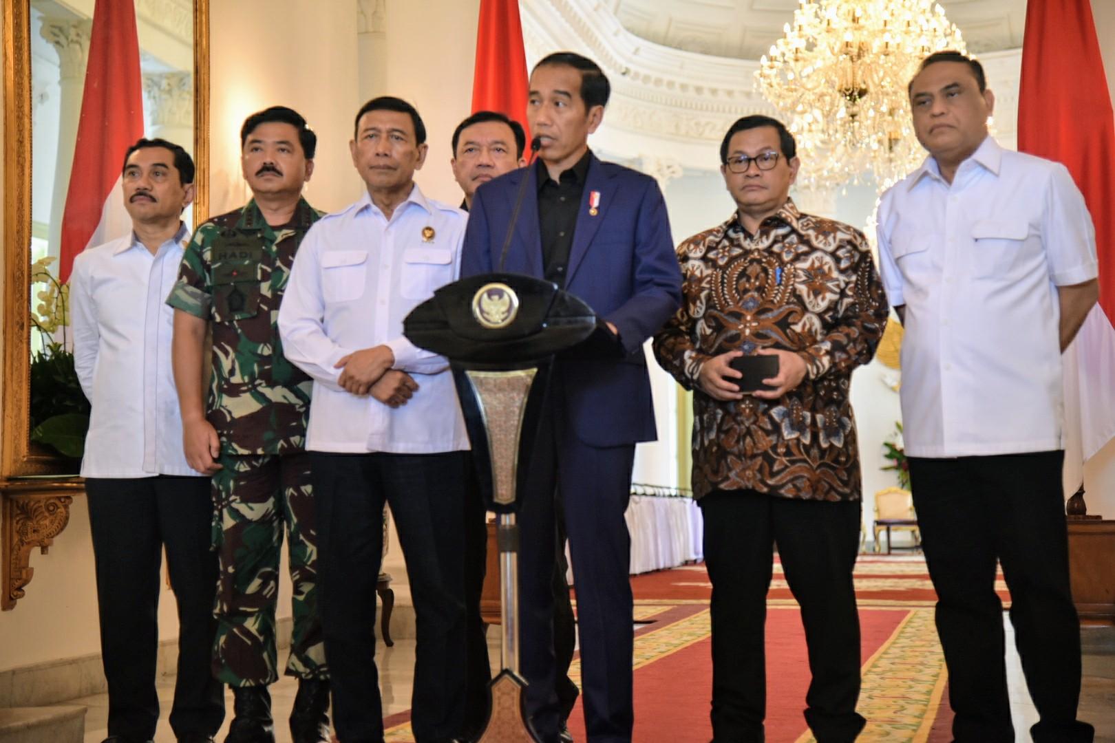 Ini pernyataan tegas Jokowi soal kerusuhan teroris di Mako Brimob