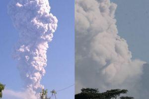 15 Foto erupsi Merapi, dijepret dari Klaten dan Boyolali