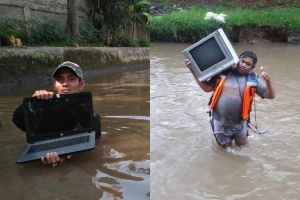 8 Barang yang ditemukan di sungai Jakarta ini bikin ngelus dada